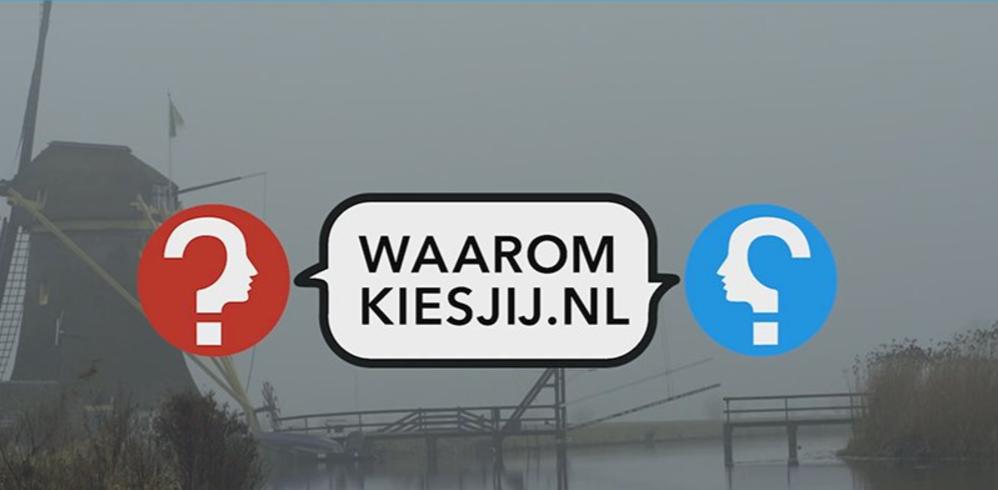 WaaromKiesJij.nl LIVE politiek speeddaten in Pakhuis de Règâh een soort Pakhuis de Zwijger in Den Haag
